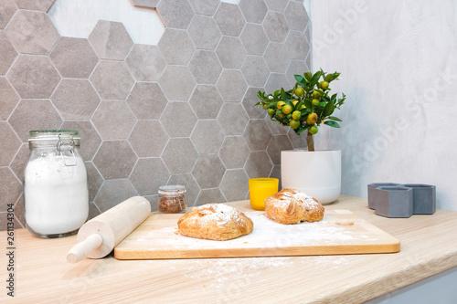 Fotografie, Obraz  Baking bread