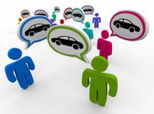 Car Automobile Speech Bubble T...