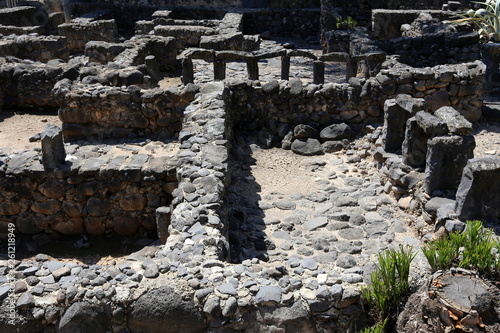Photo Capernaum is an ancient city located on the coast of Lake Kinneret in Israel