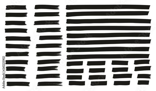 Fotografía  Tagging Marker Medium Lines High Detail Abstract Vector Background Set 130