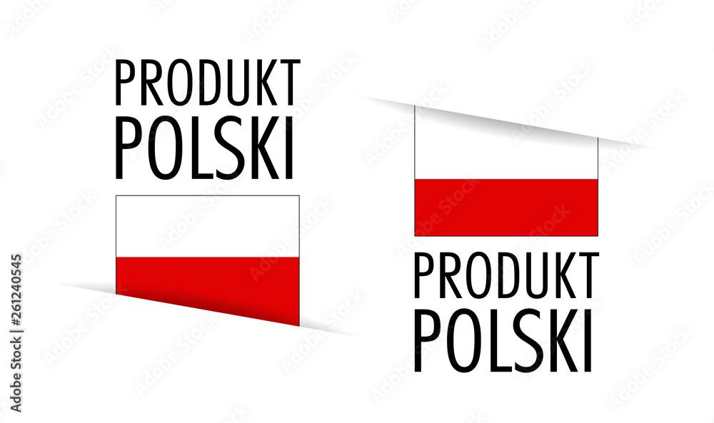 Fototapeta Produkt polski