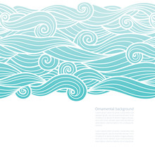 Waves Pattern Design With Copy...
