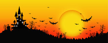 Halloween Design Background Wi...