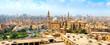 Leinwanddruck Bild View of Mosque Sultan