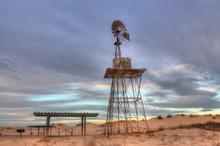 Windmills Near Midland Odesa T...