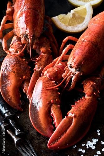 Seafood lobsters Wallpaper Mural