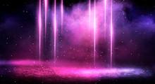 Ultraviolet Background Of Empt...