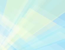 Subtle Geometric Background With Cream And Pale Blue Rectangles In Perspective
