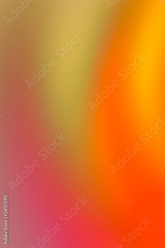 Fotografia  bright juicy background of warm tones vertical background illustration of a base