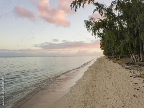 Deurstickers Strand Tropical beach