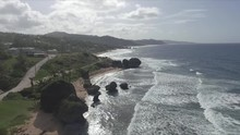 Scenic Ocean View Of Beach Sho...