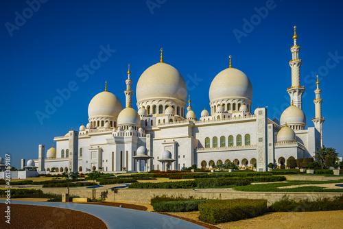 Poster Abou Dabi Sheikh Zayed Grand Mosque in Abu Dhabi 3