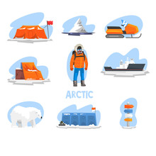 Expedition To The Arctic Set, ...