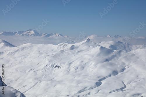 Fototapety, obrazy: Berge um Davos / Mountains around Davos