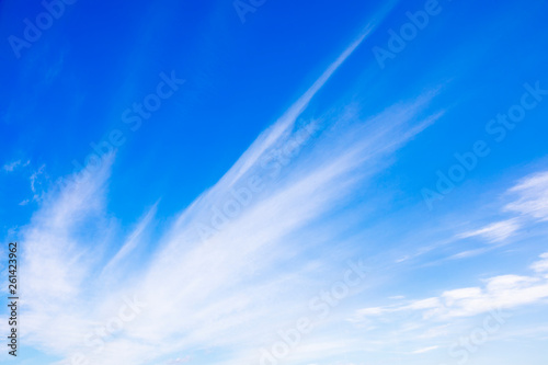 Fototapety, obrazy: sky and clouds reflection on water for natural background