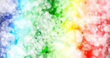Seven Colors Background.Seven Colors Bokeh Background.