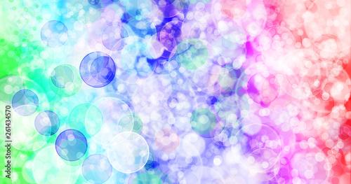 Seven colors background.Seven colors bokeh background. Canvas Print