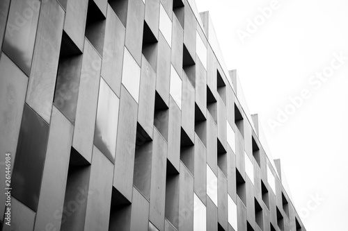 Photo abstract architectural background