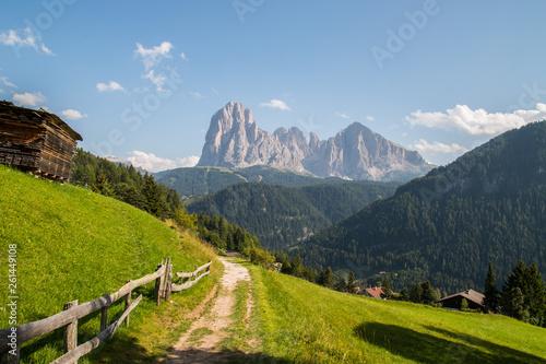 Fotografía  Panorami della Val Gardena, Trentino Alto Adige, Italia