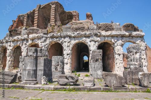 Fotografia  Santa Maria Capua Vetere Amphitheater in Capua city, Italy