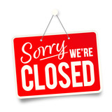 Sorry we're closed - 261470951