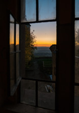 View Of The Sunset Through An ...