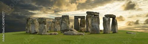 Fotografia Mystic Stonehenge in England, Europe