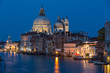 A view of Grand Canal and Basilica Santa Maria della Salute