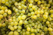 Green Grapes  Close Up,  Backg...