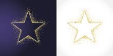 Stars Shape Logotype Set. Isol...