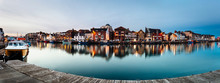 Weymouth Harbour At Night