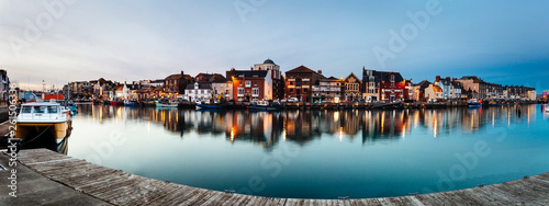 Foto  Weymouth Harbour at Night