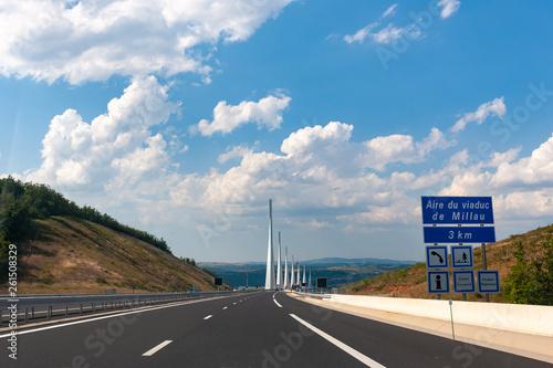 Viaduc de Millau Canvas Print