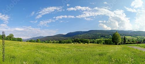Fotografia Typische Landschaft im Bayerischen Wald, Bayern, Deutschland