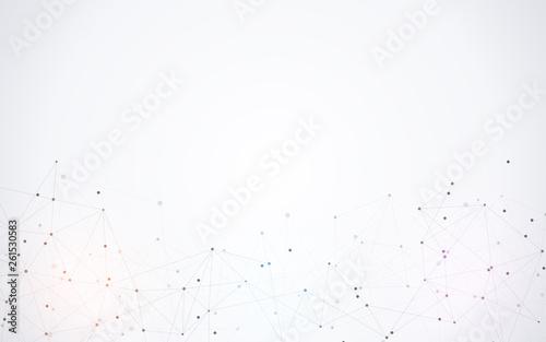 Fotografia  Global network connection