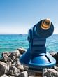 telescope at the beach