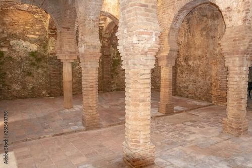 Fotografiet Village de Ronda - monuments - bains arabes