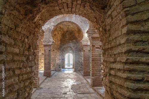 Obraz na płótnie Village de Ronda - monuments - bains arabes