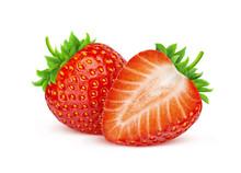 Strawberry Isolated On White B...