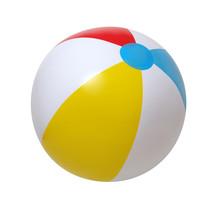 Beach Ball On White