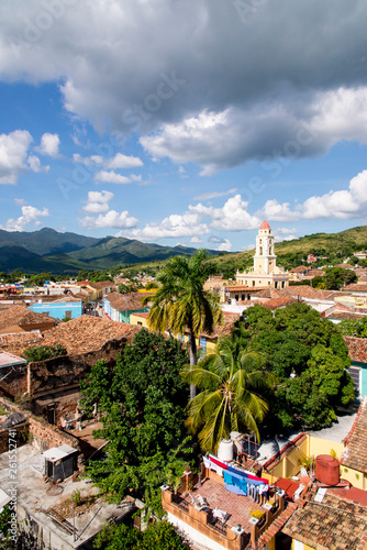 Photo Panoramic View of the historic City of Trinidad, Cuba