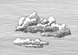 Leinwandbild Motiv Clouds E14