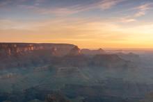 Sunrise At The Grand Canyon South Rim