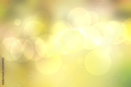 Fotografia  Abstract colorful bright bokeh background with golden sheen