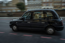 Taxi Cab In London.