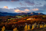Autumn Color in San Juan  of Colorado near Ridgway and Telluride