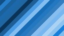 Blue Diagonal Stripes Background Vector Art