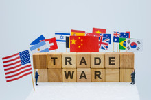 Trade War Wording With USA Chi...