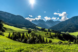 Fototapeta Fototapety na ścianę - Val di Funes, Dolomites, South Tyrol, Italy