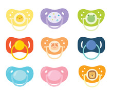 Set Of Children's Pacifiers. B...